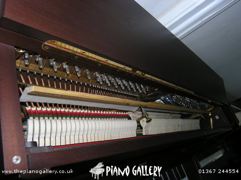 Bluthner Model C Upright Piano - Inside