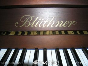 Bluthner Model C Upright Piano - Keyboard